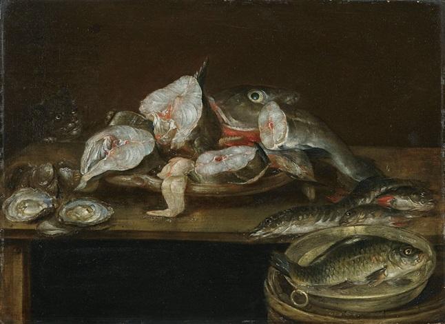 fischstillleben by alexander adriaenssen