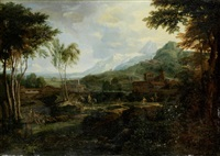 ideallandschaft by johannes (jan) glauber