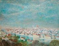 a view of florence by aarat van ewijk