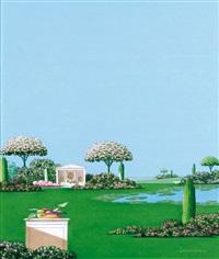 giardino con villa by giuseppe lauria