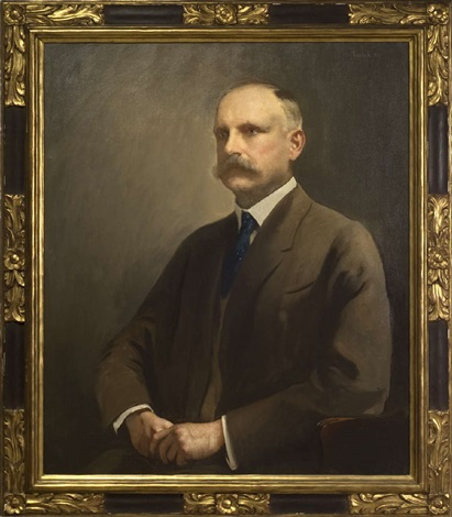portrait of charles prescott of portsmouth new hampshire by edmund charles tarbell