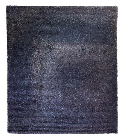 a gallop tweed leather rug flitterman