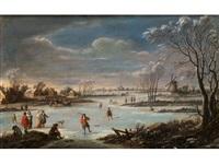 winterlandschaft by robert griffier