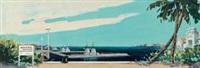 海军码头 by huang guanyu