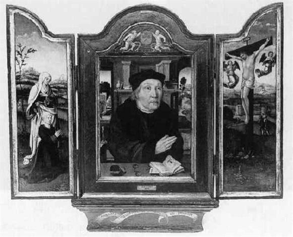 portrait eines geistlichen by danube school 16
