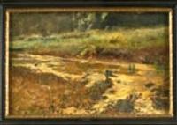 sumpfige landschaft by ludwig correggio