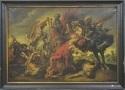 la chasse au lion by flemish school