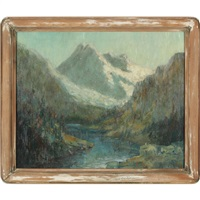 mountain grandeur by george thompson pritchard