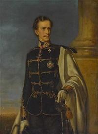 kaiser franz joseph i. von österreich by joseph mathäus aigner