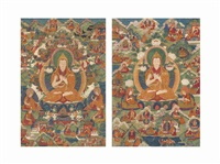 tsongkhapa (pair) by anonymous-tibetan (18)