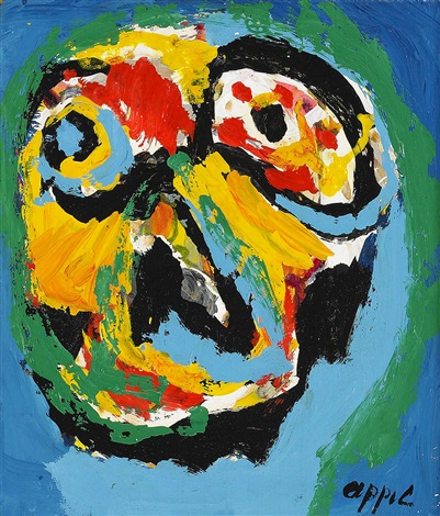 absence by karel appel