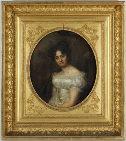 portrait de madame catherine marc cramer née mallet by firmin massot