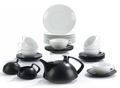 Teeservice Tak02 Set Of 27 By Walter Gropius On Artnet