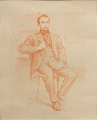 maurice maeterlinck by hippolyte petitjean