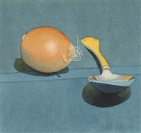 onion and spoon by mark adams