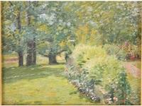 summer garden by louis charles vogt