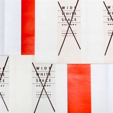 set of three posters set of 3 by daniel buren