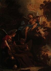 die entrückung des heilige franz von assisi by pierto lauri