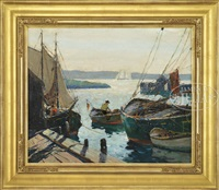 morning light gloucester by anthony thieme