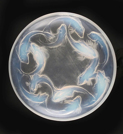 martigues no377 bowl by rené lalique