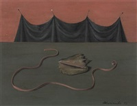 shell and drapery by gertrude abercrombie