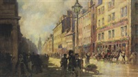 perth high street, looking from john street by robert eadie