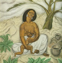 mother and child by john liello