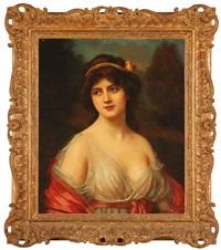 portrait of a lady by abbey altson
