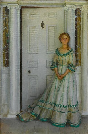 emily before the war by charles courtney curran