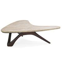 boomerang coffee table by vladimir kagan