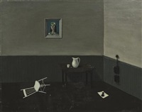 white chair by gertrude abercrombie