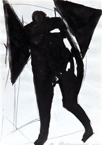 konvolut von zeichnungen (4 works) by erich reiling