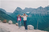 glacier national park, springfield, ma (from recreation: american photographs 1973-1988) by mitch epstein