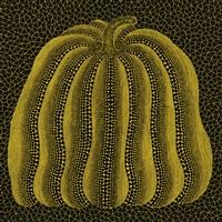 pumpkin aa by yayoi kusama