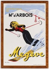 téléphérique du mt d'arbois, megève by karl machatcheck