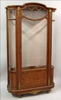 vitrine cabinet by v. epaux (co.)