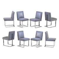 cubo chairs (set of 8) by vladimir kagan