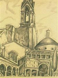santa croce, florence by john liello