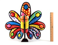 pinecrest peacock by romero britto