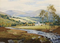 balmoral castle by george melvin rennie