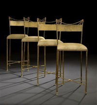 barstools (suite of 4) by luis colmenares