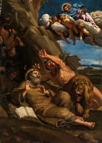 die versuchung des heiligen antonius by annibale carracci