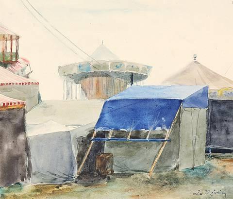 jahrmarkt from sketchbk by leo von könig