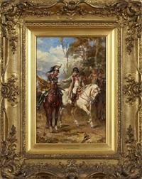 napoleon till häst by robert alexander hillingford