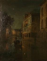 venezia rio della guerra by wilhelm ferdinand xylander