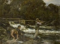 the shoulder net kirkcudbright by william stewart macgeorge