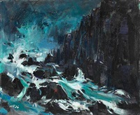 lisbon atlantic shores by khalid al-jadir