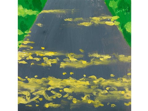late afternoon by alex katz