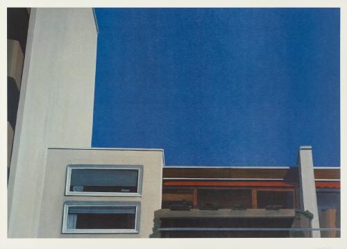 kabinen blau by eberhard havekost