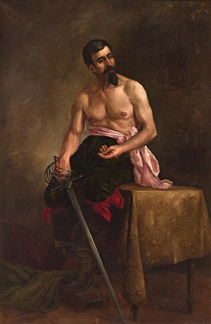 modelo vestido de espadacabín by francesc guasch i homs